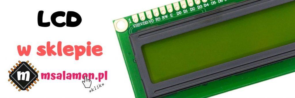 Wyświetlacz LCD 16x2 na STM32 + HAL cz 1 - Mateusz Salamon