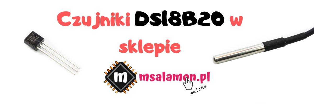 Czujniki DS18B20 w sklep.msalamon.pl